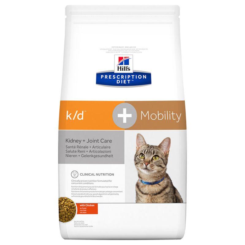 Hill's k/d + Mobility Prescription Diet pienso para gatos