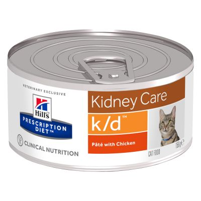 Hill's k/d Prescription Diet Kidney Care latas para gatos