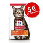 Hill's 7 kg/10 kg ração para gatos com 5€ de desconto!