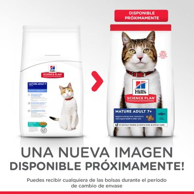 Hill's Mature Adult con atún pienso para gatos
