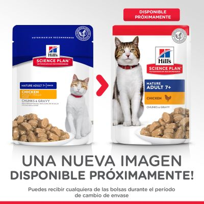 Hill's Mature Adult 7+ para gatos