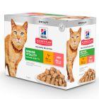 Hill's Mature Adult 7+ Senior Vitality en sobres para gatos