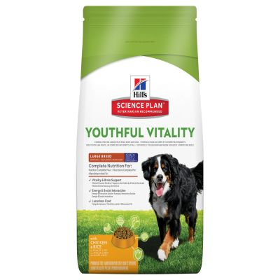 Hill's Mature Adult 7+ Youthful Vitality Large Science Plan con pollo