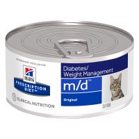 Hill's m/d Prescription Diet Diabetes/Weight Management latas para gatos