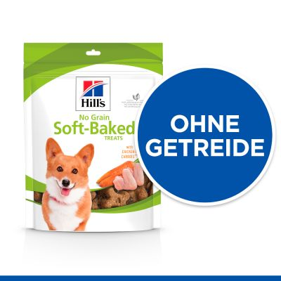 Hill's No Grain Soft Baked Snacks csirke & sárgarépa