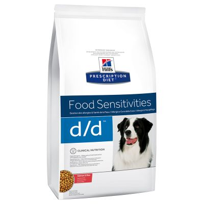 Hill's Prescription Diet Canine D/D Allergy & Skin Care Hondenvoer met Zalm & Rijst