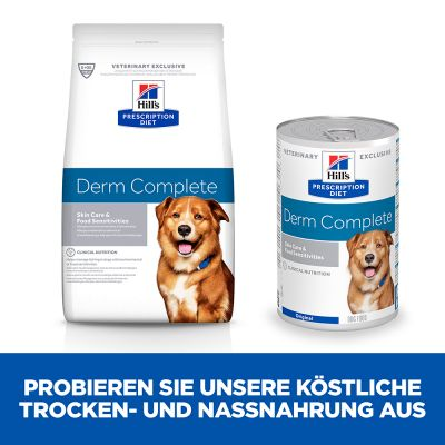 Hill's Prescription Diet Canine Derm Complete Hundefutter