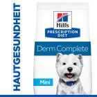 Hill's Prescription Diet Canine Derm Complete Mini Trockenfutter