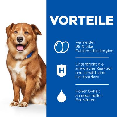 Hill's Prescription Diet Canine Derm Complete Trockenfutter