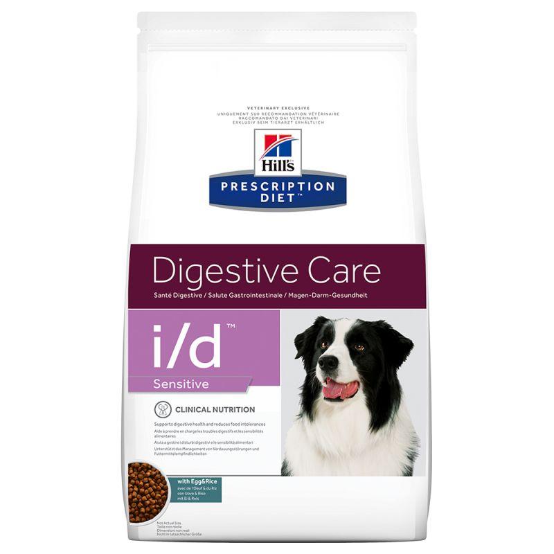 Hill´s Prescription Diet Canine I/D Digestive Care Sensitive Hondenvoer met Ei & Rijst