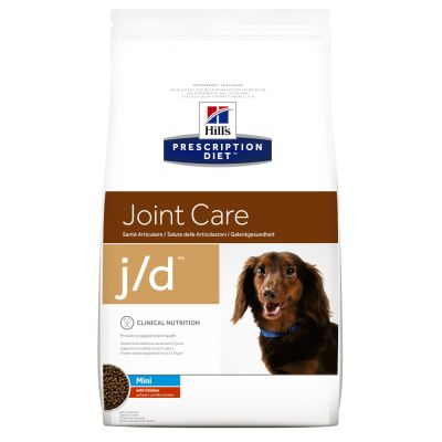 Hill's Prescription Diet Canine j/d Mini Joint Care met Kip Hondenvoer