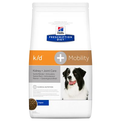 Hill's Prescription Diet Canine K/D +Mobility Hondenvoer Original