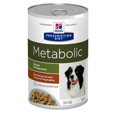 Hill's Prescription Diet Canine Metabolic Weight Management Stew - Chicken