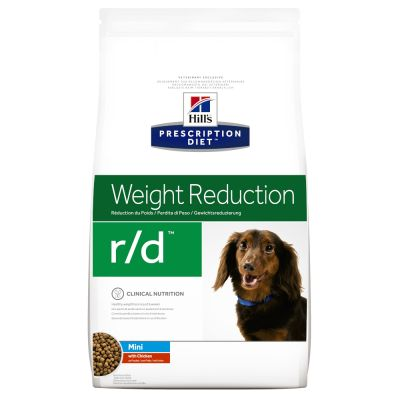 Hill's Prescription Diet Canine r/d Mini Weight Reduction Hondenvoer