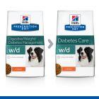 Hill's Prescription Diet Canine W/D Low Fat Diabetes Hondenvoer met Kip