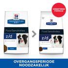 Hill´s Prescription Diet Canine Z/D Food Sensitivities Hondenvoer Original