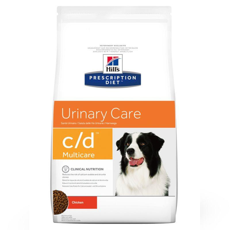 Hill's Prescription Diet c/d Multicare Urinary Care hundfoder med kyckling
