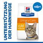 Hill's Prescription Diet c/d Multicare Urinary Care Katzenfutter mit Seefisch
