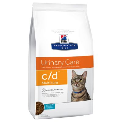 Hill's Prescription Diet c/d Multicare Urinary Care poisson de mer pour chat