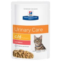 Hill's Prescription Diet c/d Multicare Urinary Care, saumon pour chat