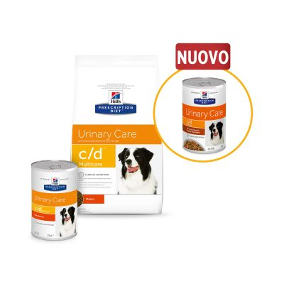 Hill's Prescription Diet c/d Multicare Urinary Care Spezzatino Pollo cani