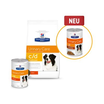 Hill's Prescription Diet c/d Urinary Care Ragout mit Huhn für Hunde