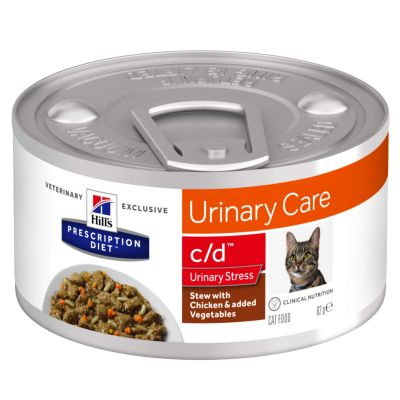 Hill´s Prescription Diet c/d Urinary Stress gulasz, kurczak