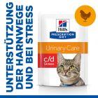 Hill's Prescription Diet c/d Urinary Stress Katzenfutter mit Huhn