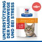 Hill's Prescription Diet c/d Urinary Stress Katzenfutter mit Lachs