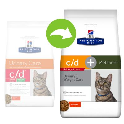 Hill's Prescription Diet c/d Urinary Stress + Metabolic pour chat