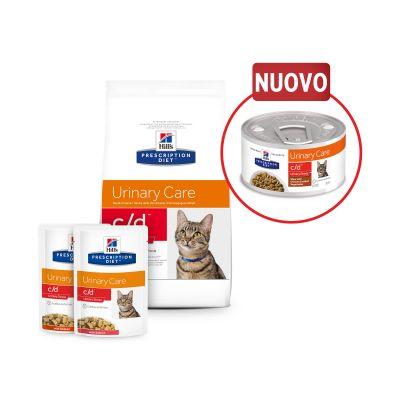Hill's Prescription Diet c/d Urinary Stress Spezzatino Pollo per gatti