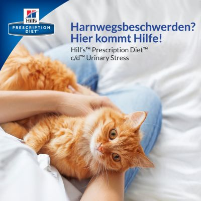 Hill's Prescription Diet c/d Urinary Stress Urinary Care Katzenfutter mit Huhn