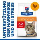 Hill's Prescription Diet c/d Urinary Stress Urinary Care Katzenfutter mit Huhn