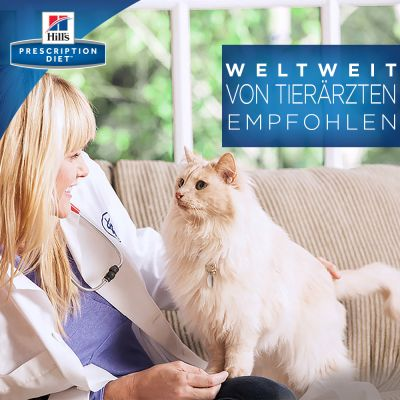 Hill´s Prescription Diet D/D Allergy & Skin Care Kattenvoer met Eend en Groene Erwten