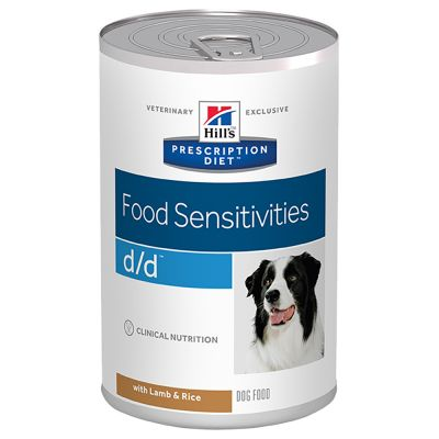 Hill's Prescription Diet d/d Food Sensitivities hundefoder 12 x 370 g
