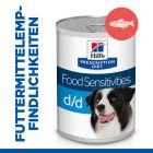 Hill's Prescription Diet d/d Food Sensitivities Hundefutter mit Lachs