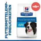 Hill's Prescription Diet d/d Food Sensitivities Hundefutter mit Lachs & Reis