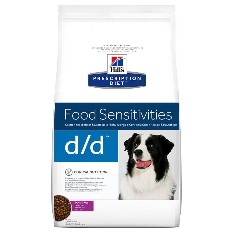 Hill's Prescription Diet d/d Food Sensitivities hundfoder med anka & ris