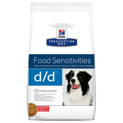 Hill's Prescription Diet d/d Food Sensitivities, łosoś i ryż