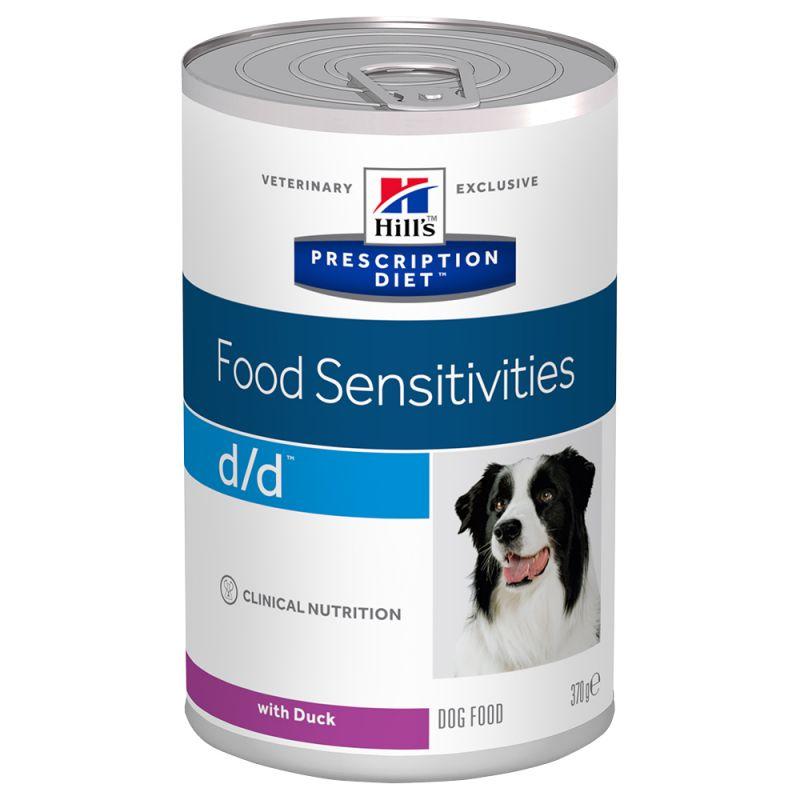 Hill's Prescription Diet d/d Food Sensitivitiesumido per cani