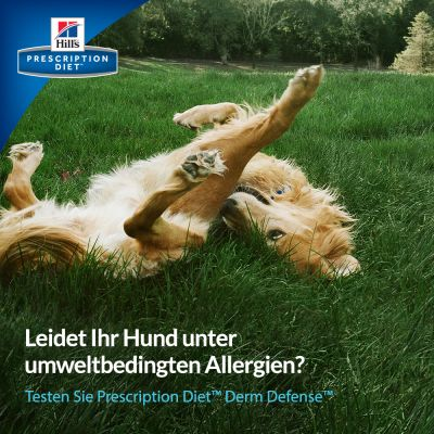 Hill's Prescription Diet Derm Defense Skin Care Hundefutter mit Huhn