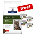 Hill's Prescription Diet Dry Cat Food - 3/4 x 82g Stews Free!*
