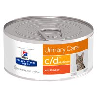 Hill's Prescription Diet Feline c/d Urinary Care, kurczak