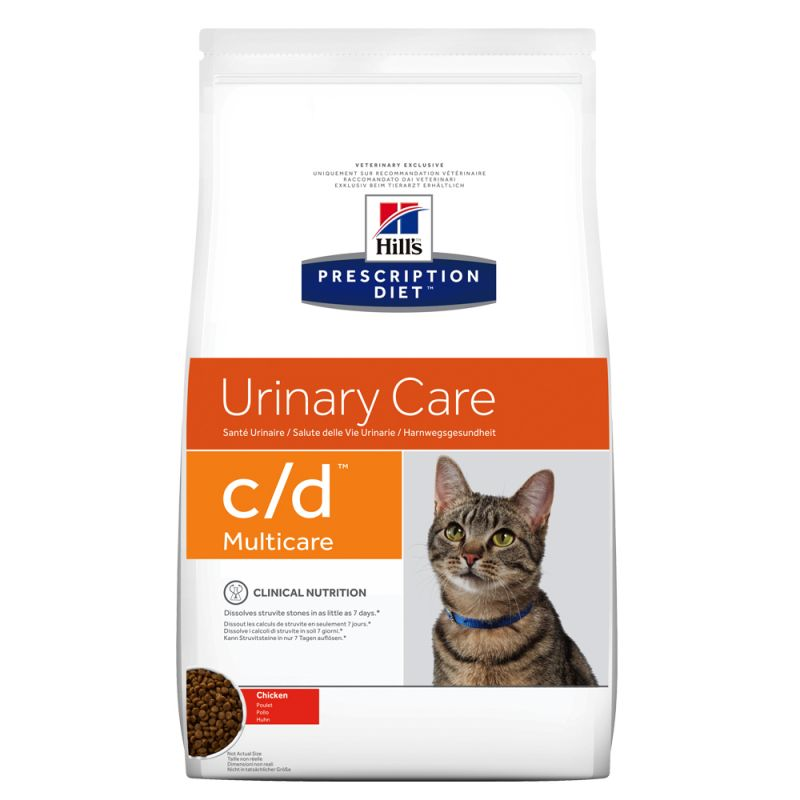 Hill's Prescription Diet Feline c/d Urinary Care Multicare med kyckling