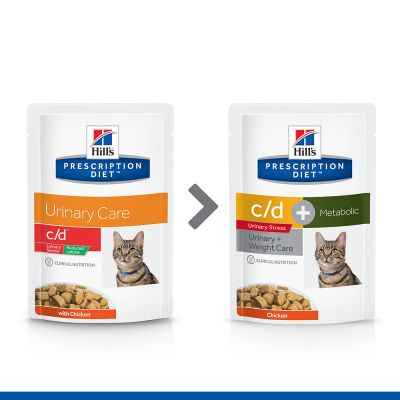 Hill's Prescription Diet Feline c/d Urinary Stress Metabolic - Chicken