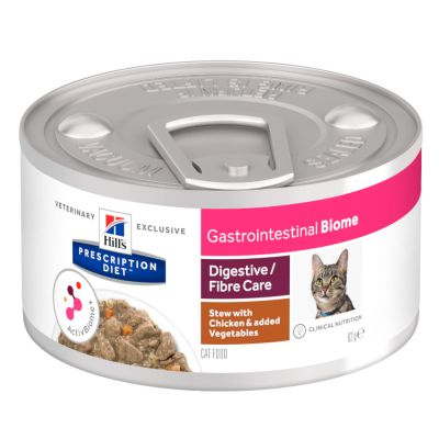 Hill's Prescription Diet Feline Gastrointestinal Biome Digestive/Fibre Care