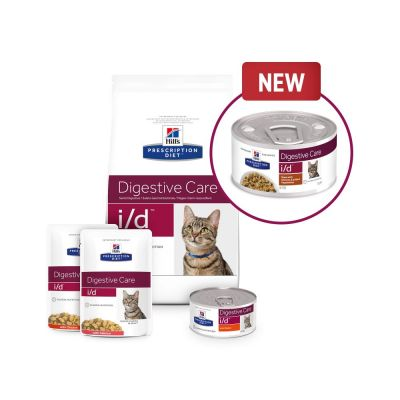Hill's Prescription Diet Feline i/d Digestive Care Stew - Chicken