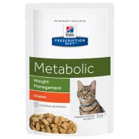 Hill´s Prescription Diet Feline Metabolic Chicken Kattenvoer