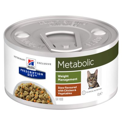 Hill's Prescription Diet Feline Metabolic Stew - Chicken