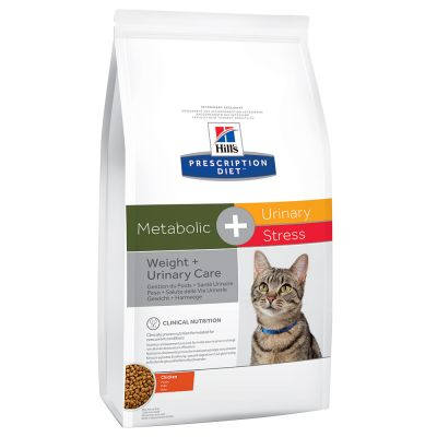 Hill´s Prescription Diet Feline Metabolic + Urinary Stress Kattenvoer met Kip